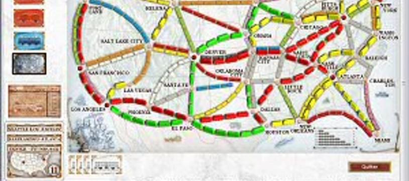 Jouez aux Aventuriers du Rail en ligne !