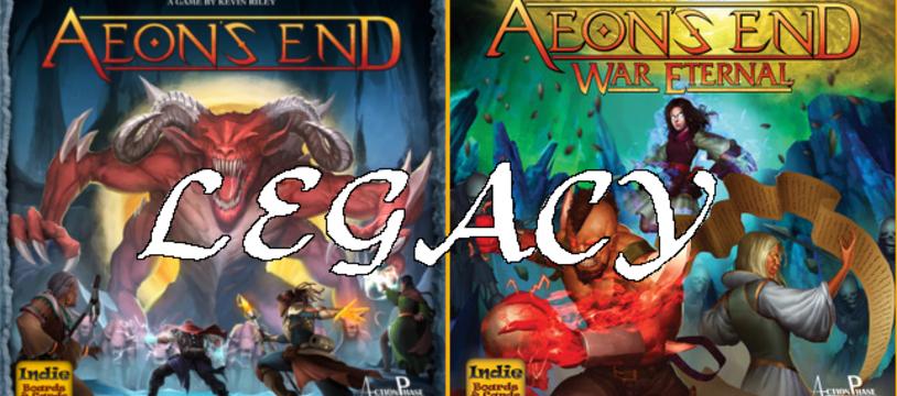 Aeon's End: Legacy - Très attendu en 2018!