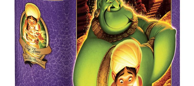 Aladin et la lampe merveilleuse en trois vœux.
