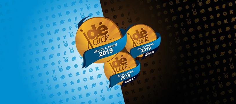 Les gagnants du Prix « Jeu de l'année 2019 » par Jeudéclick !