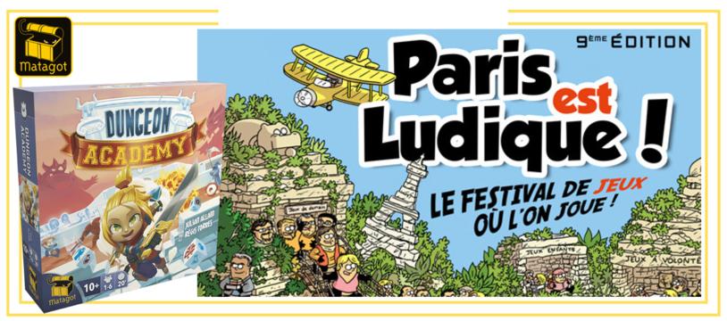 LES ÉDITIONS MATAGOT À PARIS EST LUDIQUE