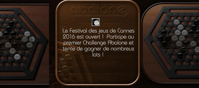 Abalone - Challenge Cannes 2016, le plaisir des boules !