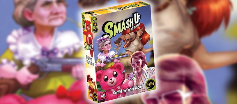 Smash'Up Conflit de Générations : y'a pas d'âge pour smasher