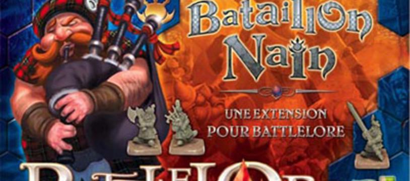 Bataillon Nain pour BattleLore !