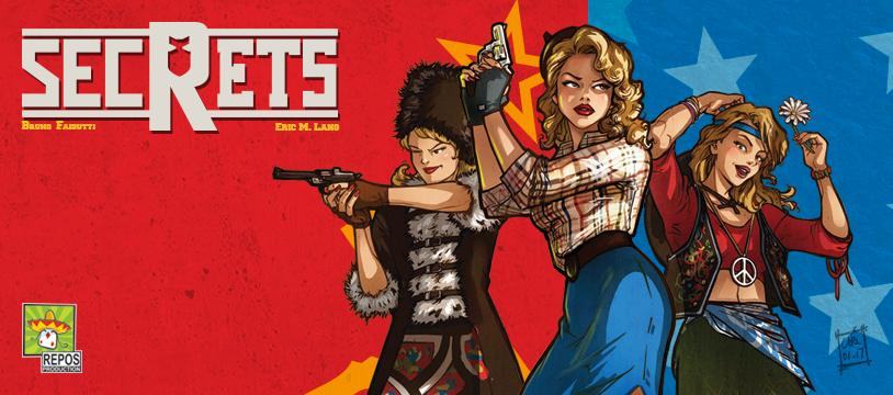 Chut c'est Secrets, c'est le nouveau jeu de Bruno Faidutti et Eric M. Lang