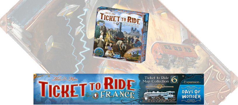 Ticket to Ride - France : Saucisson, Baguette... réglettes !