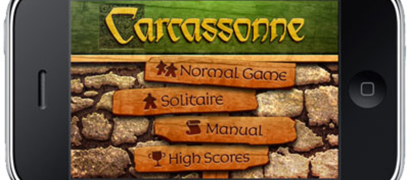 Carcassonne sur Iphone