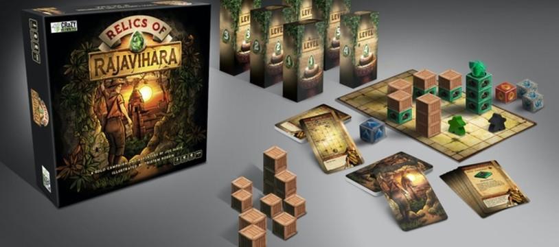 Le Kickstarter du Cubiste : Relics of Rajavihara
