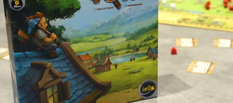 Sur le Vif! Review de Little Town! Un mini-Caylus Top pour jouer en famille!