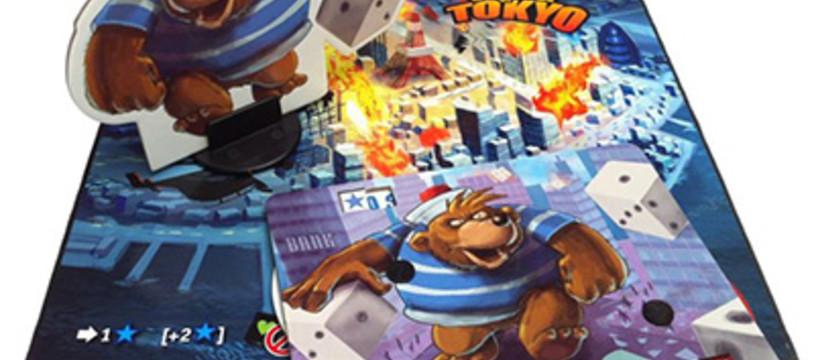King of Tokyo : L'ours et le Pouic en goodies