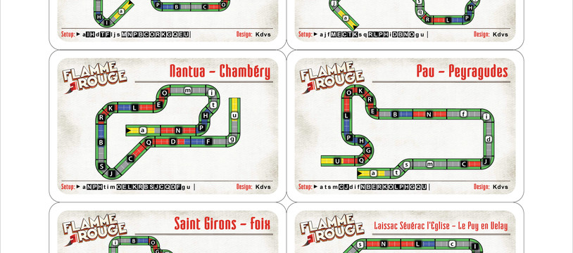 [Flamme Rouge] Custom Stages