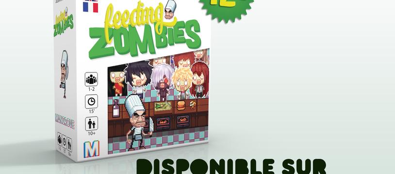 Feeding zombies d s le 7 novembre sur kickstarter for Cuisinier zombie