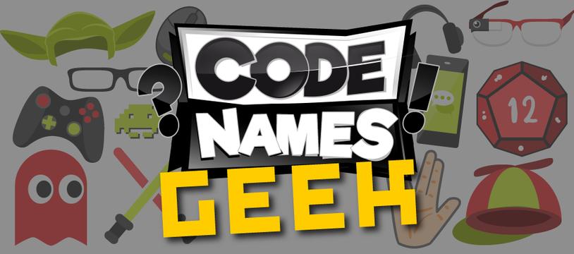 Récupérez des cartes Codenames pour les Geeks !