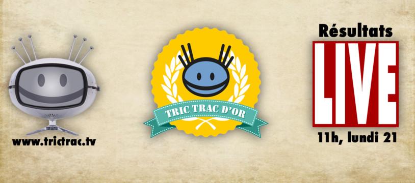 L'annonce des Tric Trac d'Or, en live !