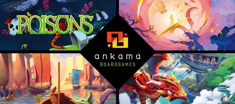 Ankama Boardgames : 2020 en un coup d'œil