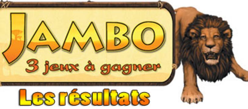 Concours Jambo, les gagnants sont