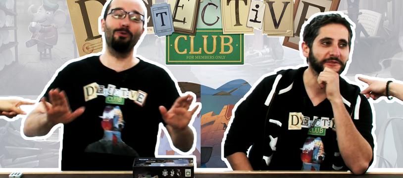 Detective Club, de l'explipartie !