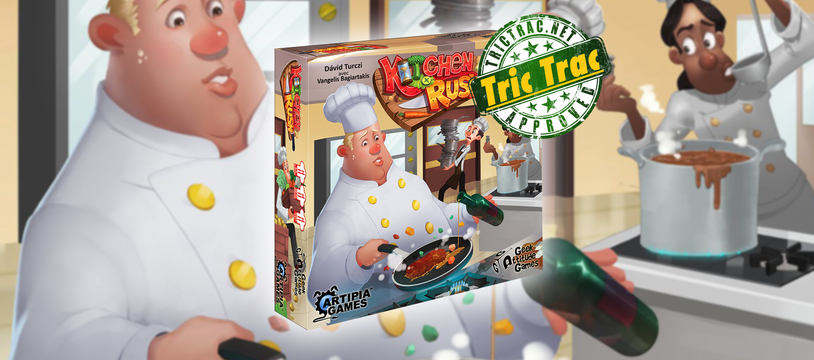Kitchen Rush : jouer avec la nourriture