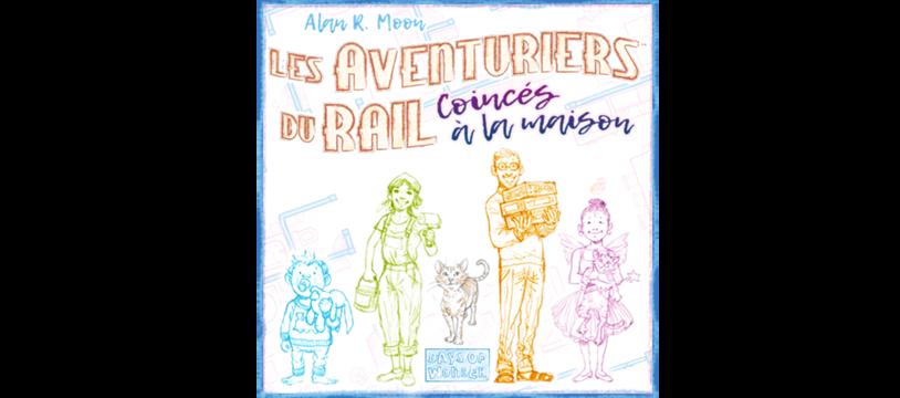 Les Aventuriers du Rail: Coincés à la maison