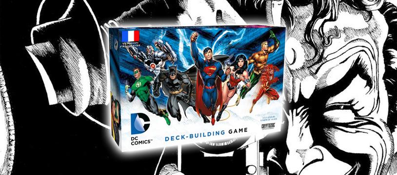 DC Comics Deckbuilding : marquer les poings !