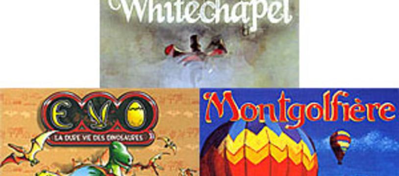 [CyBeRFaB] Bonne Année ! avec EVO / Une Ombre sur WHITECHAPEL / MONTGOLFIERE