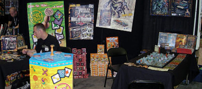 """Dungeon Twister"" au salon Origins 2005"