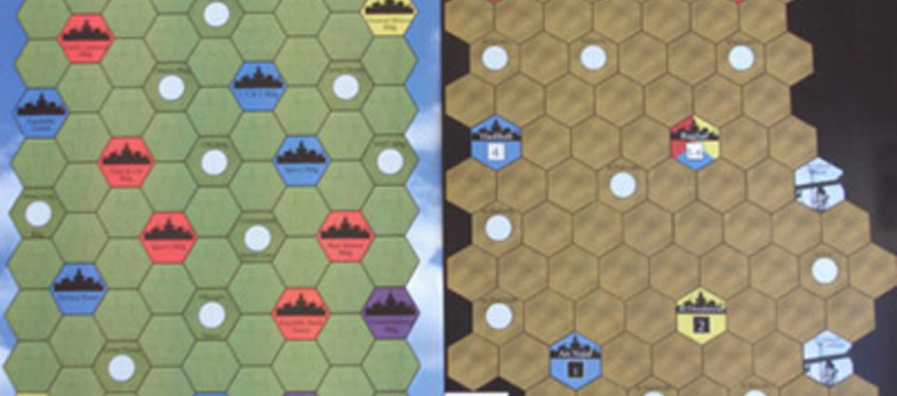 2 cartes d'Age of Steam pour Essen 2007