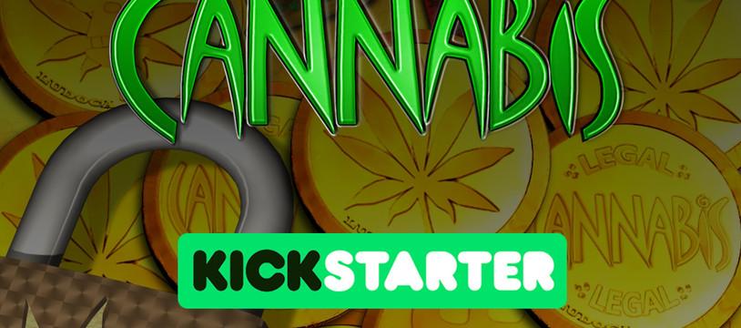Annonce de la date de lancement du jeu Legal Cannabis sur Kickstarter