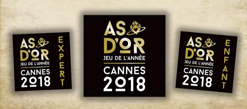 L'as d'Or Jeu de l'année 2018 sont...