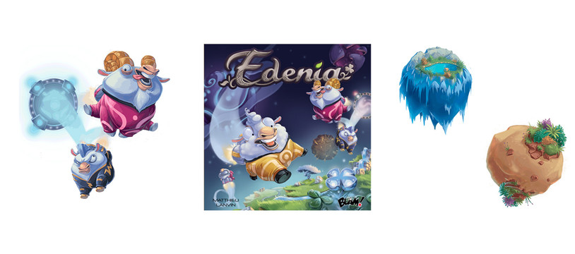 Edenia : De planètes en trous noirs, saute, Mouton !