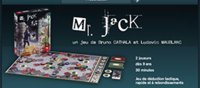 Mr Jack et Hurrican Games, le site web !