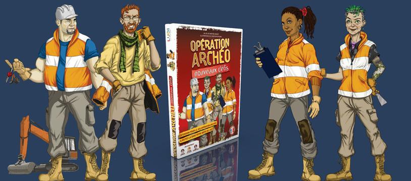 Opération Archéo : Nouveaux défis désormais disponible en précommandes !