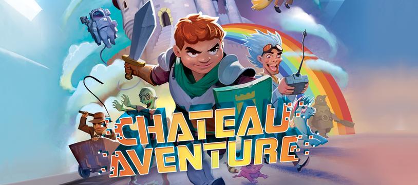 Château Aventure : 128 pages de folles histoires
