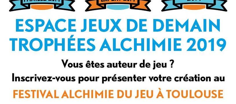 Inscription des protos pour L'alchimie du Jeu (Toulouse)