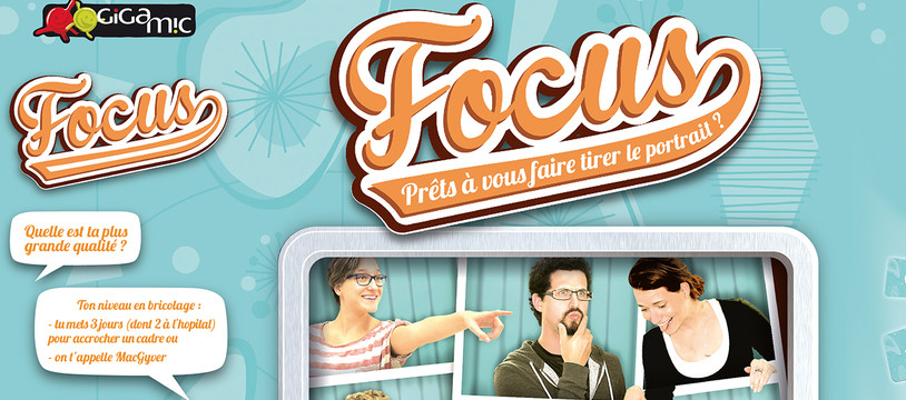 Focus, le jeu de Madame Mathilde de Gigamic !