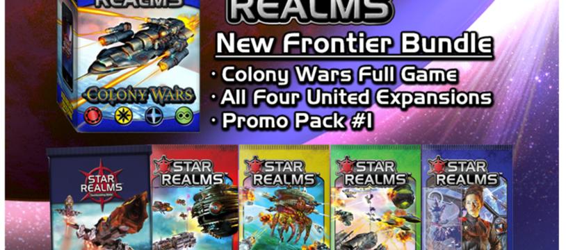 Star Realms : les extensions Colony Wars, Cosmic Gambit et United pas en France avant longtemps