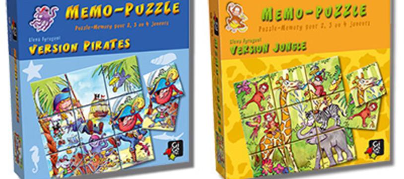 Memo-Puzzle : Deux d'un coup