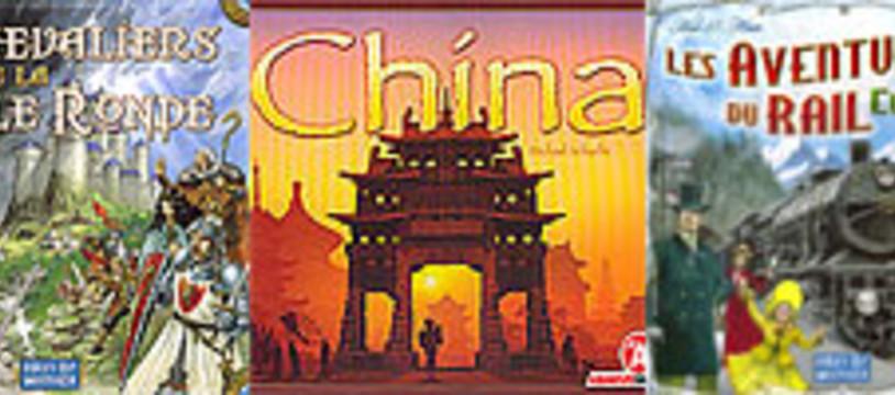 [CyBeRFaB] Les derniers C.R. : China/ AdR - Europe/ Les Chevaliers de la Table ronde