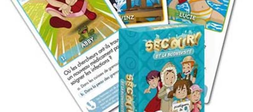 """""""Secoury et la biodiversité"""" un nouveau jeu de 7 familles quizant"""