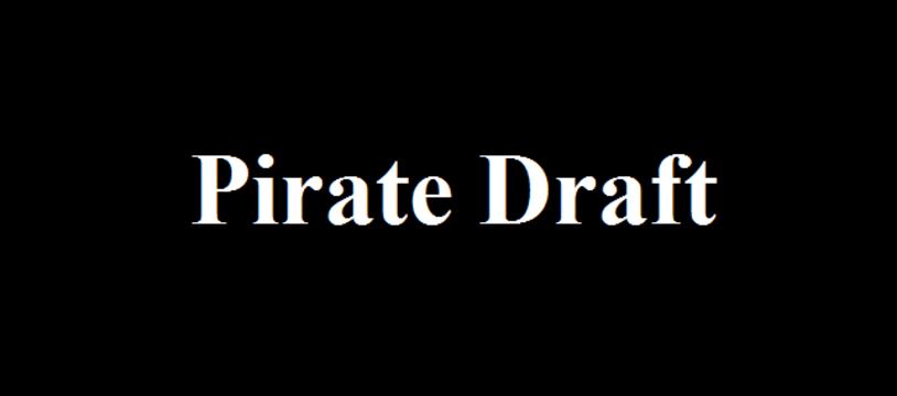 Le jeu gratuit de la semaine :  Pirate Draft