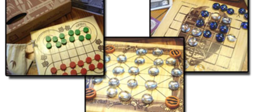Des jeux traditionnels en bambou