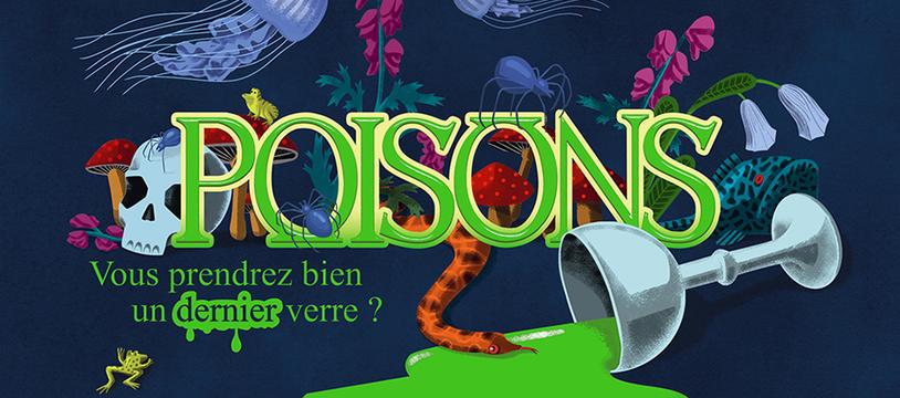 Poisons : Double Designer's Diary par Chris Darsaklis et Bruno Faidutti