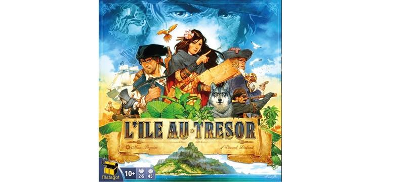 L'équipage de L'île au trésor