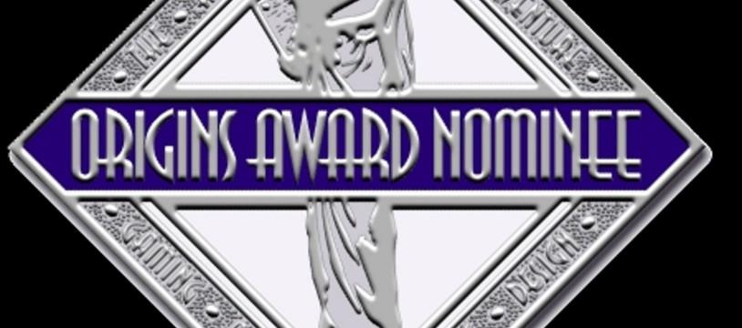 Les Origins Award nouveaux sont proclamés