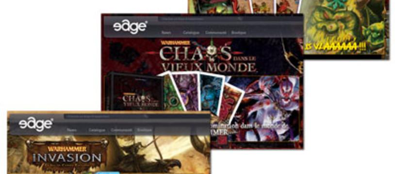 Entre Edge et Games Workshop, la vie est belle