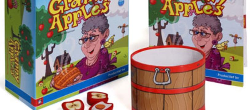 Avec Granny Apples, comptez les pommes