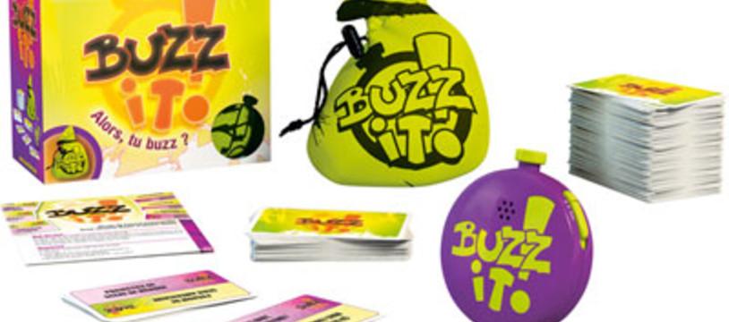 Un max de buzz pour Buzz it!