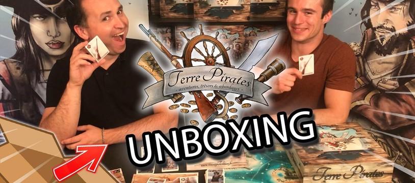 Terre Pirates : unboxing, réédition, mécaniques et pépites d'or !