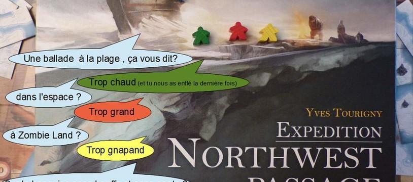 Meeple toi-même/Northwest Passage : Les rois de la glisse