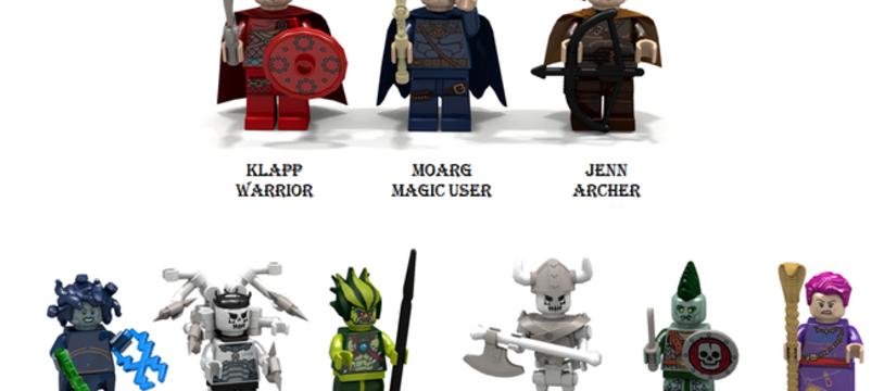 Lego Ideas : Quest Builder... ah si seulement...